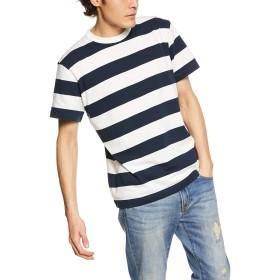 [ユナイテッド アスレ] 5.6オンス ボーダーTシャツ 5.6オンス ボーダーTシャツ メンズ 562501 ネイビー/ホワイト/(5.0cmピッチ) 日本 S (日本サイズS相当)