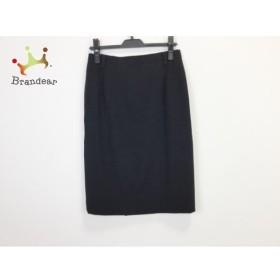 ヨシエイナバ YOSHIE INABA スカート サイズ11 M レディース 美品 黒 新着 20190713