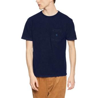 [チャンピオン] ポケットTシャツ C3-P344 メンズ インディゴ 日本 M (日本サイズM相当)