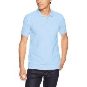 [プリントスター] 半袖 5.8オンス TC 鹿の子 ポロシャツ [ポケット付] 00100-VP メンズ サックス M (日本サイズM相当)