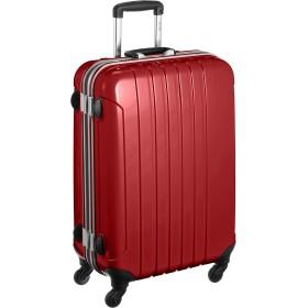 [マンハッタンエクスプレス] スーツケース フレームタイプ 鏡面加工 フーク 63L 70cm 70 cm 4.7kg 53-20023 レッド