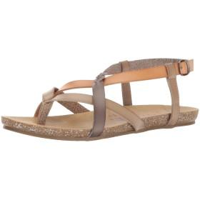 Blowfish Women's Granola-B Birch/Nude/Steel Grey Ankle-High Sandal - 6.5M