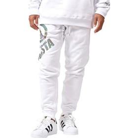 [ネスタ ブランド] NESTA BRAND パンツ グラフィック リフレクト スウェット ロングパンツ 183NB1811 ホワイト XL