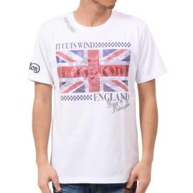 [ノートン] Norton Tシャツ ドライ ユニオンジャック 昇華 クルーネック TEE 192N1003 ネイビー XXXL