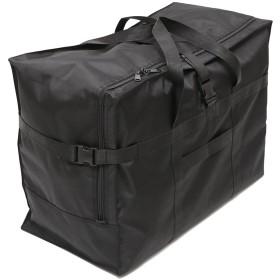 LDLS 旅行トラベルバッグ スーツケース ビッグサイズ スーツケースカバー (BLACK)