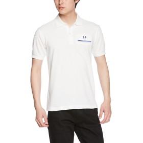 [フレッドペリー] ポロシャツ BACK PRINT SHIRT F1679 メンズ 10WHITE UK S-(日本サイズM相当)