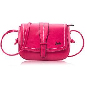 Barbie バービー プリンセスシリーズ かわいい 高級PUレザー ショルダーバッグ 斜めかけバッグ 2way レディースバッグ