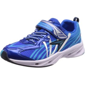 [シュンソク] 運動靴 速乾 AIRSTORM MAX 20cm~24.5cm 2E キッズ 男の子 SJJ 5240 ブルー 24 cm