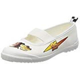 [ディズニー] 女の子 男の子 キッズ Cars カーズ 子供靴 上履き スニーカー バレーシューズ DN05 ホワイト 14.0cm