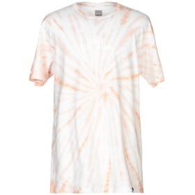 《セール開催中》HUF メンズ T シャツ ライトピンク L コットン 100%