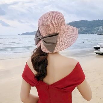 帽子 レディース 夏 夏物 つば広 UV UVカット uv対策 麦わら 大きいサイズ 日よけハットおしゃれ