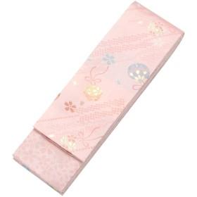 [京のみやび]女の子袴下帯 ピンク 鈴