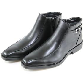 [ノースデイト] スノーブーツ -351- ビジネスブーツ ブラック 26.0