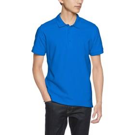 (ギルダン)GILDAN ポロシャツ 83800 アダルト ダブルピケ ポロシャツ 83800 ロイヤル M