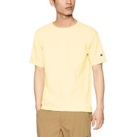[チャンピオン] T1011 US Tシャツ ポケット付 MADE IN USA C5-P305 メンズ クリームイエロー 日本 L (日本サイズL相当)
