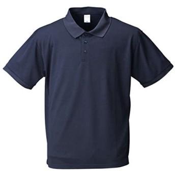 (エムシーエスピー) MC.S.P 大きいサイズ DRYハニカムメッシュ半袖ポロシャツ 8L ネイビー