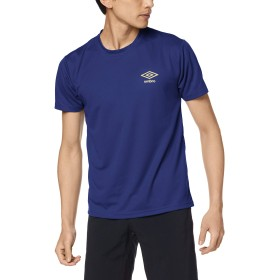 [アンブロ] Tシャツ DRY メッシュ クルーネック UBS713A メンズ ネービーブルー 日本L (日本サイズL相当)