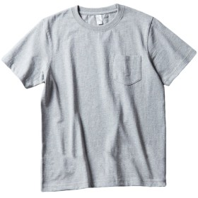 Daxvens Tシャツ メンズ カットソー 半袖 夏服 無地 ゆったり 3カラー ポケット 綿 おおきいサイズ 柔らかい 色褪せにくい 爽やか 通気 速乾 涼しい 着心地抜群