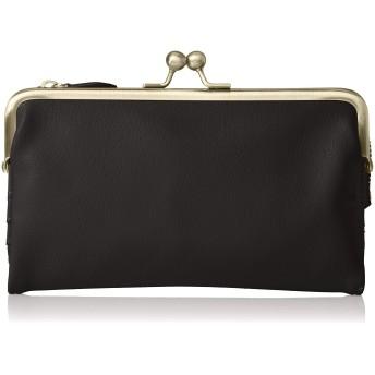 [レガートラルゴ] 長財布 LJ-F1502 ケースフェイクレザー がま口長財布 ブラック