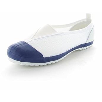 ムーンスター 子供靴/メンズ/レディース カラーメッシュ 02 踵踏付け防止機能搭載の上履き (24.0, ブルー)