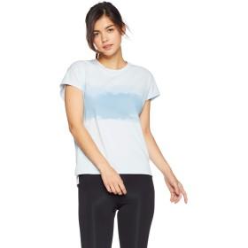 [ダンスキン] フィットネスウェア ALPHADRYフレンチTシャツ [レディース] DB79114 フロストブルー (FR) 日本 XL (日本サイズXL相当)