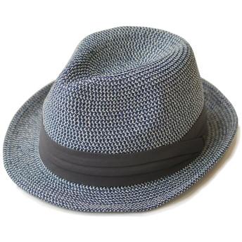 (エッジシティー)EdgeCity 折りたたみ可能 大きいサイズ メンズ 麦わら帽子 ストローハット L 61cm 000319-0011-61-