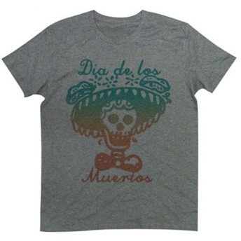 Tシャツ カトリックのお祭り ザ・メキシコデザイン スカルTee