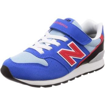 [ニューバランス] キッズシューズ KV996 / YV996(現行モデル) 運動靴 通学履き 男の子 女の子 18_ブルー/レッド(BLR) 21 cm