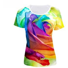 FOR U DESIGNS(JP) Tシャツ 半袖 クルーネック レディース Sサイズ