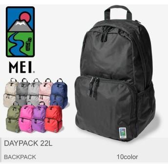 MEI エムイーアイ バックパック デイパック22L DAYPACK 22L 180010 メンズ レディース バッグ 鞄 リュック