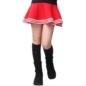 プリーツスカート ガールズ 子供服 キッズ ミニスカート Aライン 女の子 学生 カジュアル 学園 可愛い
