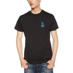 [ボルコム] [メンズ] 半袖 プリント Tシャツ (アジアンFIT)[ AF011910 / Apac Pangeaseed S/S Tee ] おしゃれ ロゴ BLK_ブラック US M (日本サイズM相当)