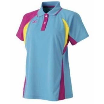 ゲームシャツ(ラケットスポーツ・レディース) MIZUNO ミズノ テニス/ソフトテニス ウエア ゲームウエア (62JA6313)