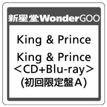 King & Prince/King & Prince<CD+Blu-ray>(初回限定盤A Blu-ray)20190619