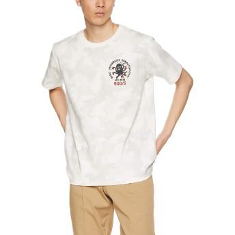 [アヴィレックス] Tシャツ EMB TEE SEAL 6193344 メンズ 801WHITE CAMO 日本 L (日本サイズL相当)