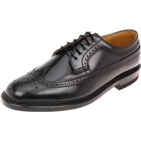 [リーガル] ラウンドトゥウィングチップビジネスシューズ 日本製 革靴 2589 BLACK (ブラック) 大きいサイズ (30.0m, BLACK (ブラック))