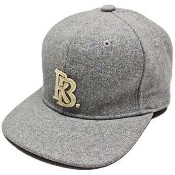 (ルーベン) 【RUBEN】 RB MELTON CAP RBメルトンキャップ BBキャップ ストレートキャップ ウール混 FREE グレー
