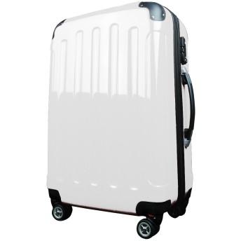アウトレットスーツケース キャリーケース 中型4~6日用 Mサイズ即日配送TSAロック 鏡面 8輪 キャリーバッグ