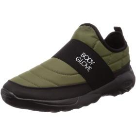 [ボディグローブ] モックスリッポン 防水ブーツ クロッグ BG990 KHAKI 23 cm
