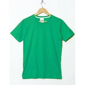 Tシャツ 無地 半袖 クルーネック メンズ 4.4オンス カットソー 春 夏 シンプル XLサイズ 24.ブライトグリーン fut-0001-xl-green4
