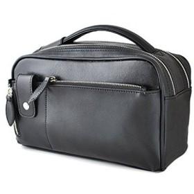 ユナイテッドオム・プレジデント United HOMME-President- セカンドバッグ BOX型スクエアタイプ ソフトレザー ブラック UHP-2374
