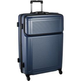 [プロテカ] スーツケース 日本製 ポケットライナー サイレントキャスター 保証付 88L 70 cm 4.9kg コズミックネイビー