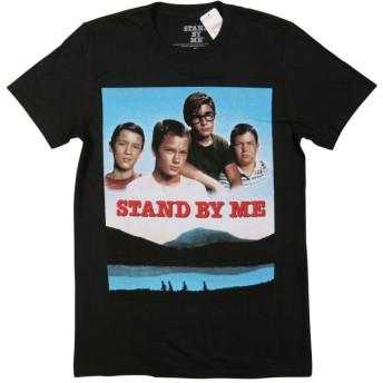 (スタンド バイ ミー)STAND BY ME 半袖 ムービープリント Tシャツ S BLACK(ブラック) [並行輸入品]