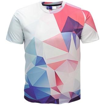 (ピゾフ)Pizoff メンズ Tシャツ 半袖 シンプル プリント ファション 男女兼用 カットソー 夏Y1625-L3-S