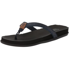 [Yellow Box] Women's Quast Sandal, Navy, Size 8.5