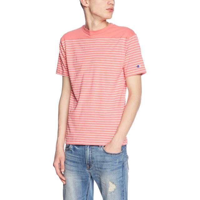 [チャンピオン] Tシャツ C3-M351 メンズ ピンク 日本 L (日本サイズL相当)