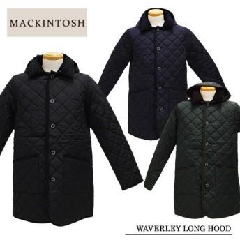 【MACKINTOSH-マッキントッシュ-】WAVERLEY LONG HOOD QT/7166 メンズ・キルティングジャケット・アウター・フード付き