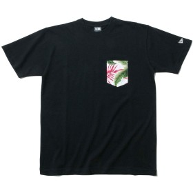 (ニューエラ) NEW ERA Tシャツ BOTANICAL ブラック M