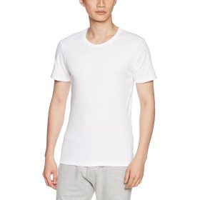 (ブロス)BROS インナーシャツ 【PREMIUM INNER】 丸首 半袖 GL5711 ホワイト M