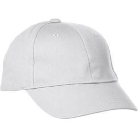 [プリントスター]帽子 クラブ ツイル キャップ 00710-CTC ホワイト FREE サイズ